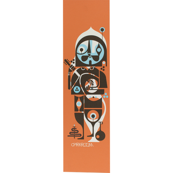Darkroom - GRIPTAPE Single Sheet Soloist Orange - 9''x33''
