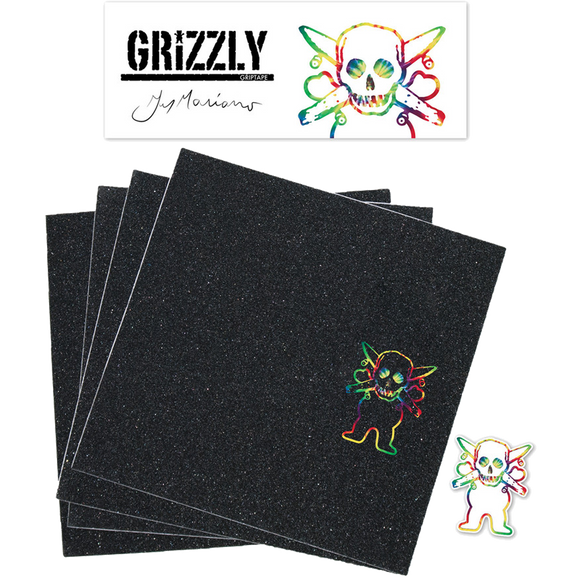 Grizzly GRIPTAPE Squares Mariano Signature | Universo Extremo Boards Skate & Surf