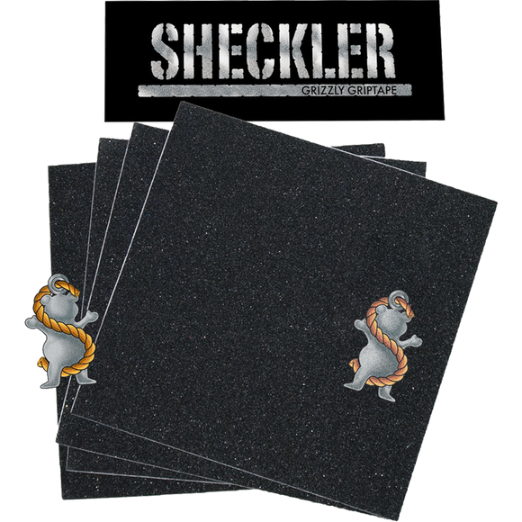 Grizzly Sheckler Signature Grip Squares Pack | Universo Extremo Boards Skate & Surf