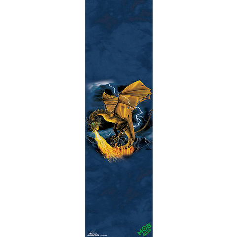 Mob Mountain Golden Dragon 9x33 1 Sheet | Universo Extremo Boards Skate & Surf