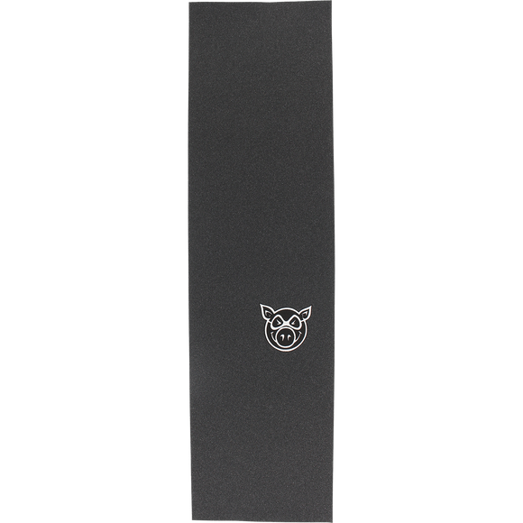 Pig GRIPTAPE Sheet Head Logo Black/White