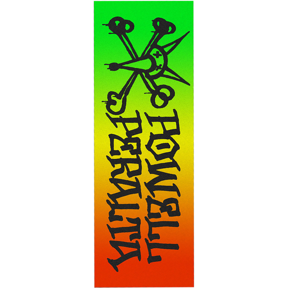 Powell Peralta - GRIPTAPE Single Sheet Rat Bones Fade 2 Rasta - 10.5''x33''