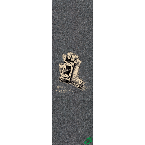 Santa Cruz/Mob Screaming Hand Art Show II Horton GRIPTAPE 1pc | Universo Extremo Boards Skate & Surf