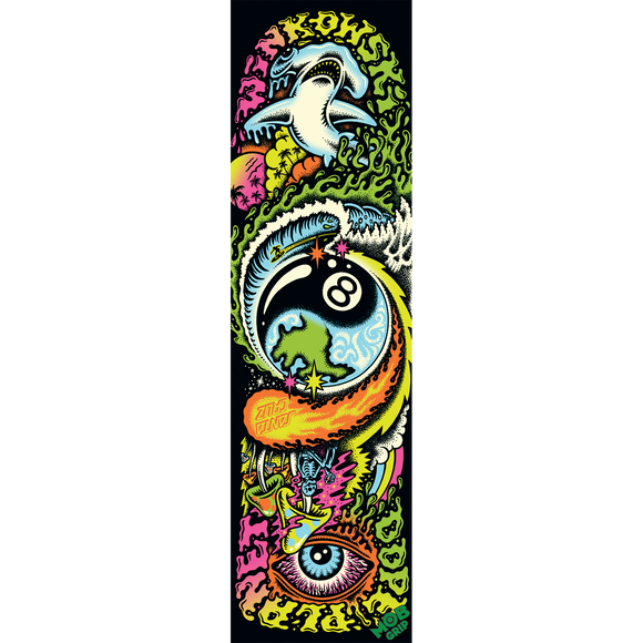 Santa Cruz MOB Winkowski Dope Planet Griptape 9x33 Single Sheet