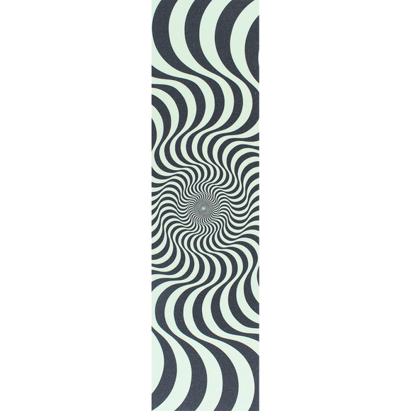 Spitfire/Mob Single Sheet GRIPTAPE - Swirl Black/Glow