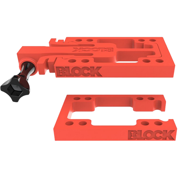 Block Riser Goblock Risers Kit Red (Connect GoPro's HeroÆ to your Skateboard) | Universo Extremo Boards Skate & Surf
