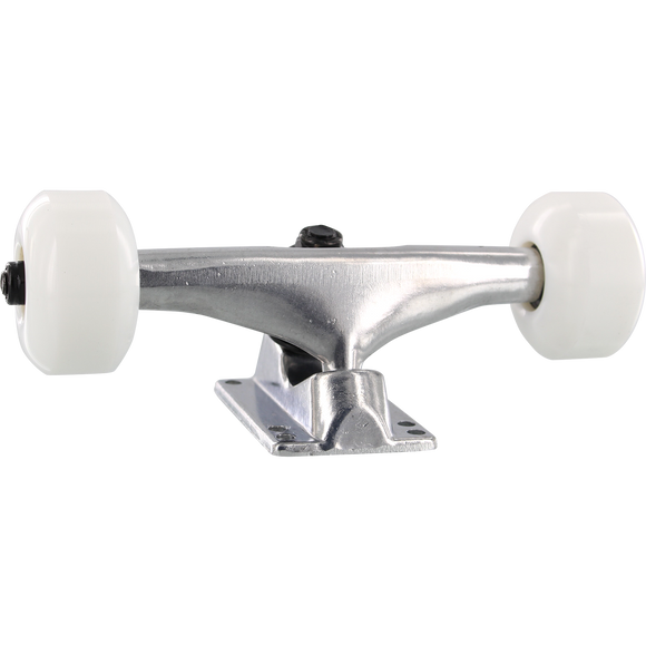 Essentials Assembly 5.25 Raw W/White 53mm Skateboard Trucks (Set of 2)
