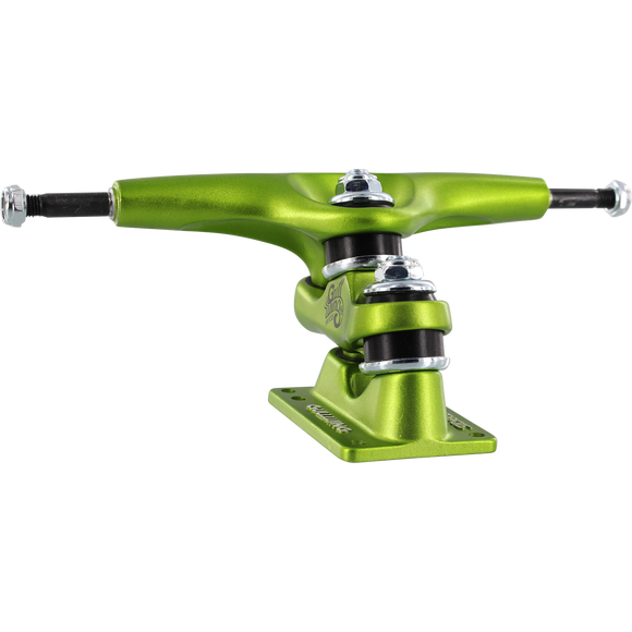 Gullwing Sidewinder II 9.0 Lime Green Truck Longboard Trucks (Set of 2)