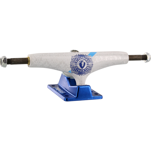 Thunder HI 147 Hollow-Lt Elite White/Blue Skateboard Trucks (Set of 2) | Universo Extremo Boards Skate & Surf