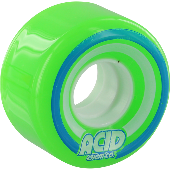 Acid Pods Conical 55mm 86a Green Skateboard Wheels (Set of 4)