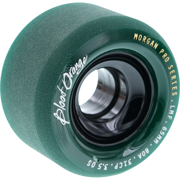 Ricta - Nyjah Chrome Core Slim 53mm White/Teal Skateboard Wheels (Set of 4)