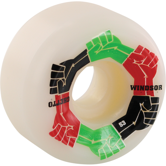 Ghetto Child Windsor Power 53mm Skateboard Wheels (Set of 4)
