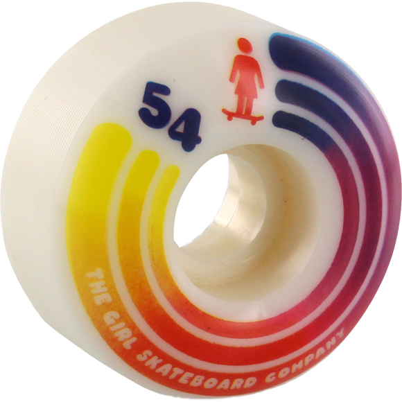 Girl United 54mm 98a Skateboard Wheels (Set of 4) | Universo Extremo Boards Skate & Surf
