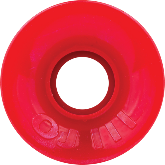 OJ Wheels III Hot Juice Mini 78a 55mm Solid Red Skateboard Wheels (Set of 4) | Universo Extremo Boards Skate & Surf