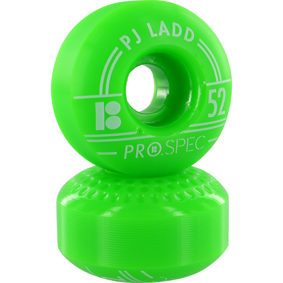 Plan B Ladd Prospec 52mm Green Skateboard Wheels (Set of 4) | Universo Extremo Boards Skate & Surf