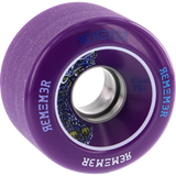 Remember Lil Hoot 65mm 78a Purpleple/Charcoal Skateboard Wheels (Set of 4) | Universo Extremo Boards Skate & Surf