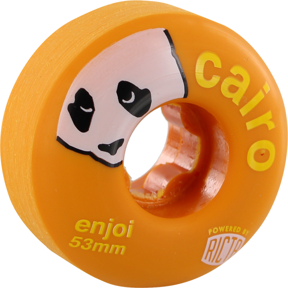Ricta/Enjoi Cairo Foster Slix 53mm 81b Orange Skateboard Wheels (Set of 4) | Universo Extremo Boards Skate & Surf