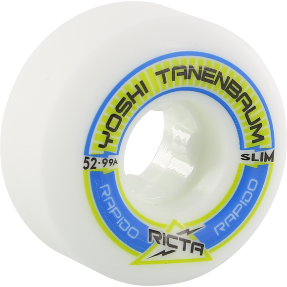 Ricta Tanenbaum Pro Rapido Slim 52mm Skateboard Wheels (Set of 4)