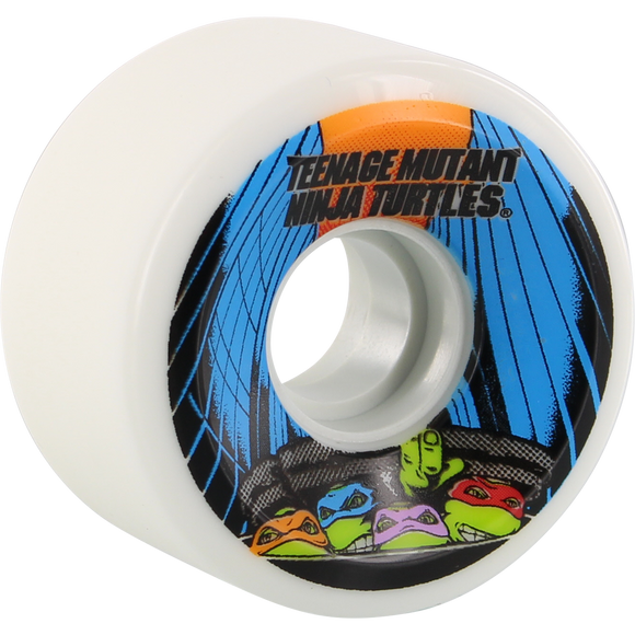 Santa Cruz Slimeballs Og Slime 60mm 78a Tmnt White Skateboard Wheels (Set of 4)