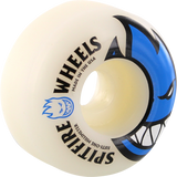 Spitfire Bighead 51mm White W/Blue Skateboard Wheels (Set of 4)