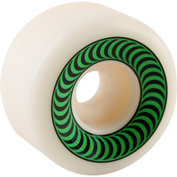 Spitfire Og Classics 52mm White/Green Skateboard Wheels (Set of 4)