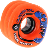 Shark California Roll 60mm 78a Orange Skateboard Wheels (Set of 4) | Universo Extremo Boards Skate & Surf