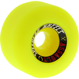 Speedlab Blue Collar Hammers 54.5mm 101a Yellow Skateboard Wheels (Set of 4)