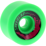 Speedlab Bombshells 57mm 99a Green Skateboard Wheels (Set of 4)