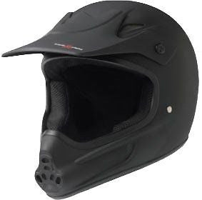 Triple 8 Invader Full Face Skateboard Helmet XS/S-Black CPSC/ASTM Skateboard Helmet| Universo Extremo Boards