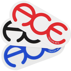 "Ace Rings 3"" Sticker Assorted - Single"