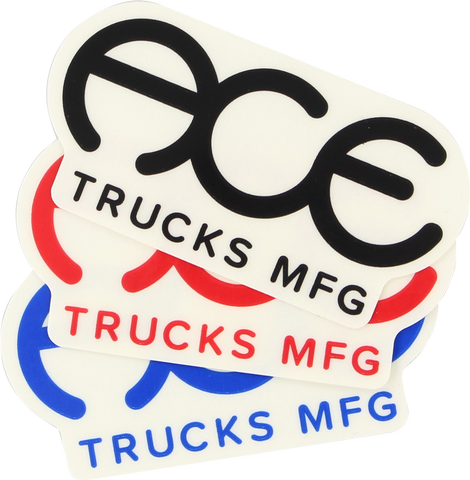 "Ace Standard Logo 3"" Sticker Assorted - Single"