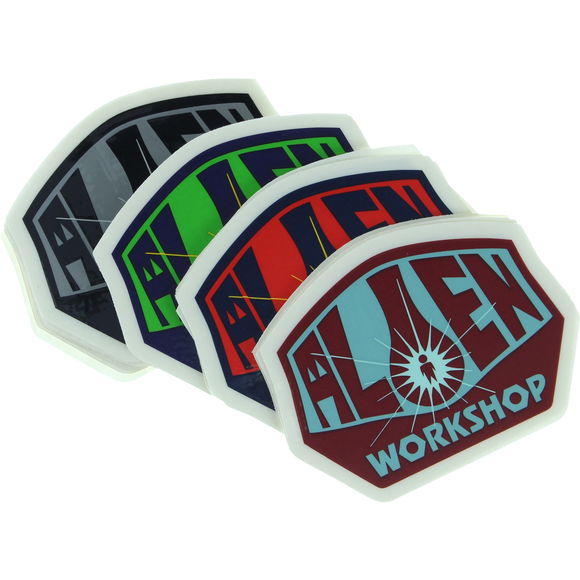 Alien Workshop Og Logo 25/Pack Decals Assorted | Universo Extremo Boards Skate & Surf