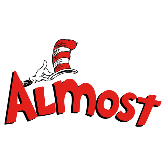 Almost Almost Hat Decal Single