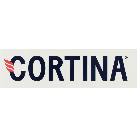 Cortina Classic Logo Sticker Single