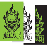 Creature Bonehead DECAL - 4x6.75"