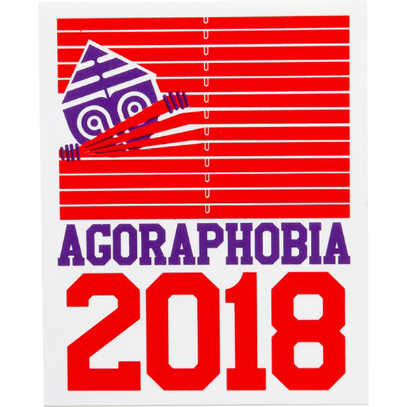 Darkroom Decal - Agoraphobia