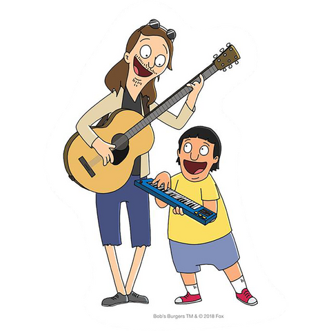 Habitat Bob'S Burgers Stefan Janouski Decal - Single
