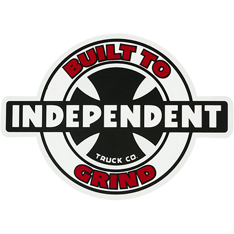 "Independent 95 Btg Ring Decal 4""x5.5""  Single"
