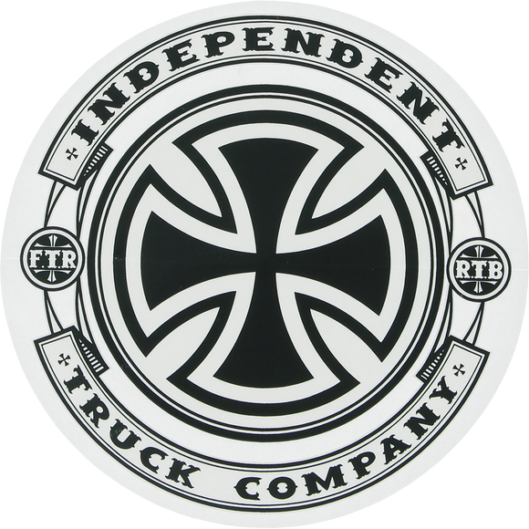 Independent Steady Mylar Decal 5x5