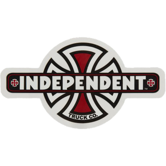 Independent Vintage Cross Decal 2.37x4.25