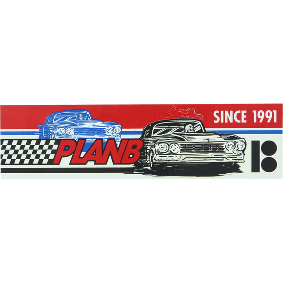 Plan B Racer DECAL - - Single | Universo Extremo Boards Skate & Surf
