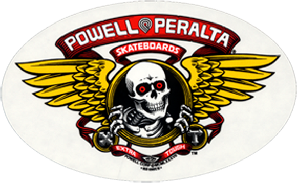Powell Peralta Winged Ripper Decal Single |Universo Extremo Boards Skate & Surf