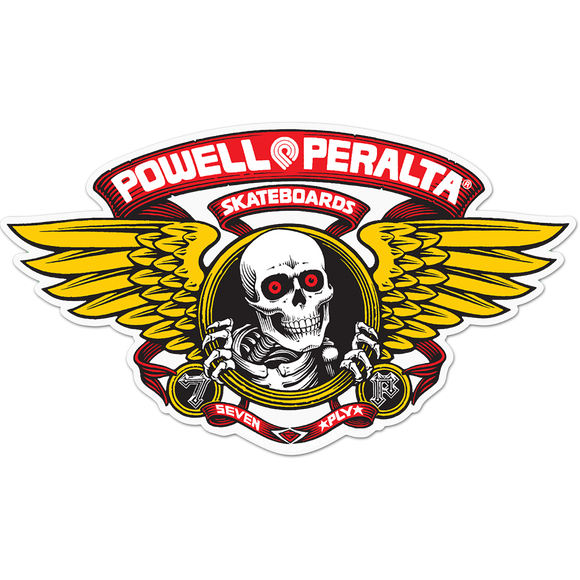 Powell Peralta Winged Ripper Die-Cut 5