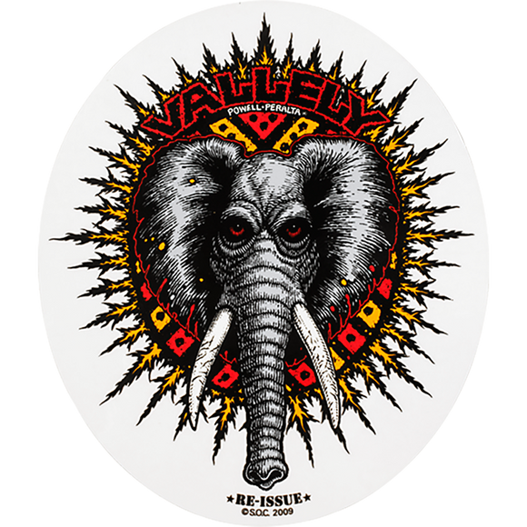 Powell Peralta Vallely Elephant Decal Single