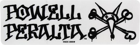 Powell Peralta Vato Rat DECAL - Single Assorted Colors | Universo Extremo Boards Skate & Surf
