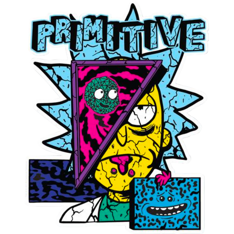 Primitive R&M Destructed Decal Single