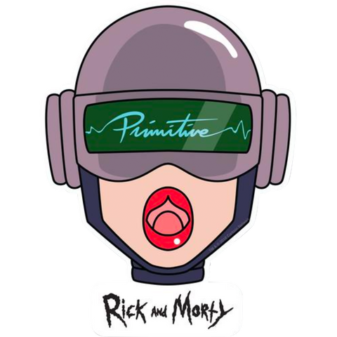 Primitive R&M Gwendolyn Head Decal Single