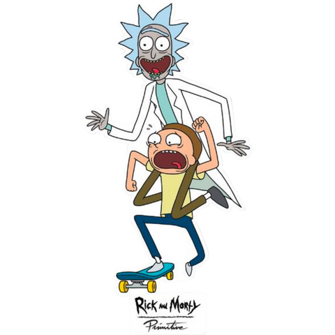 Primitive R&M Skate Decal Single