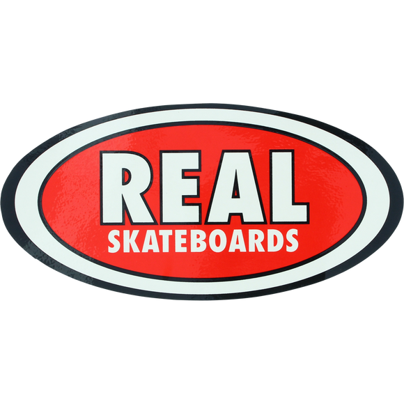 Real Oval Classic Medium DECAL - Single | Universo Extremo Boards Skate & Surf