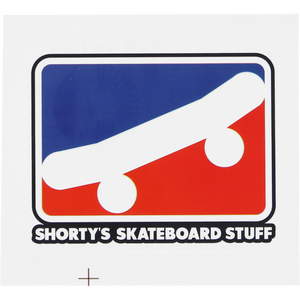 Shortys Skate Icon Decal 2.5""